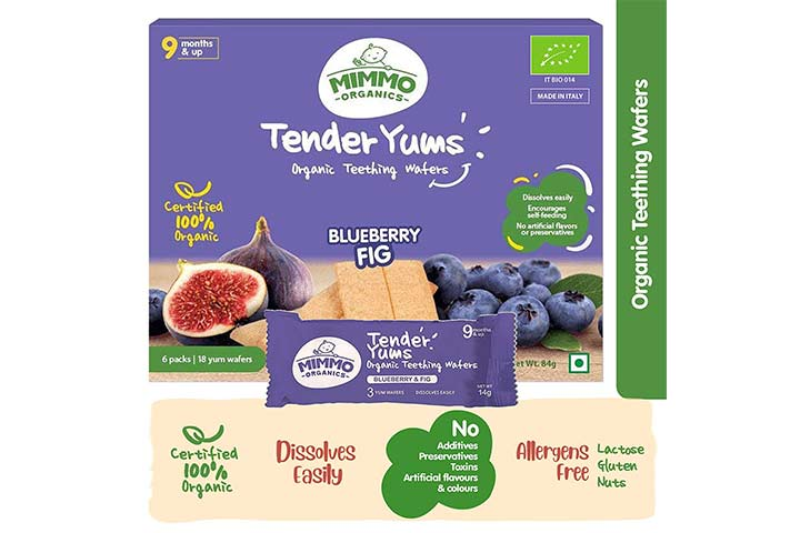 Mimmo Organics Tender Yums Teething Wafers