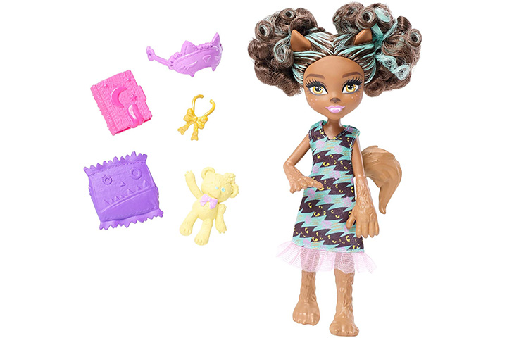 Monster High Monster Family Pawla Wolf Doll