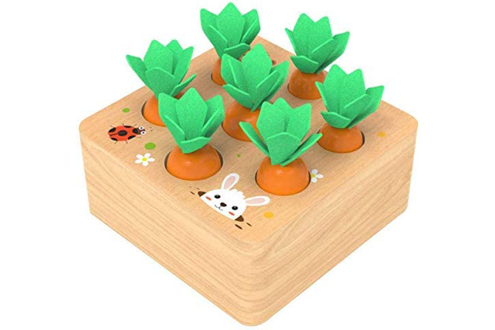 Montessori Stack Up Sorting Puzzle for Kids