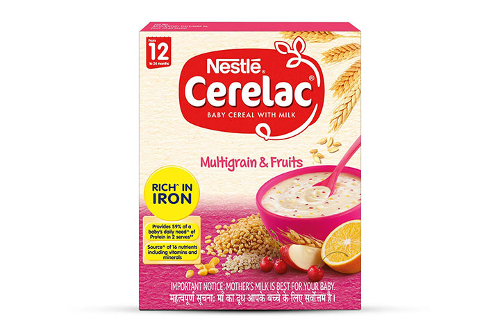 Nestlé Cerelac Fortified Baby Cereal