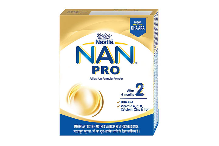 Nestle NAN PRO 2 Follow-Up Formula-Powder
