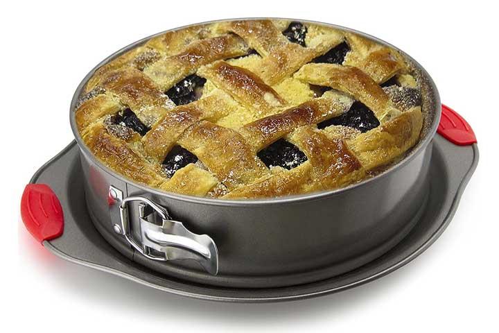Non-Stick Springform Pan 10 inch. Professional Quality Pans Series