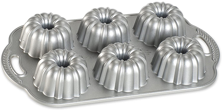 Nordic Ware Platinum Anniversary Bundtlette Pan