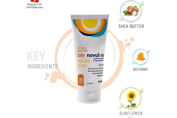 Novelu Infants and Baby Mineral Based Sunscreen