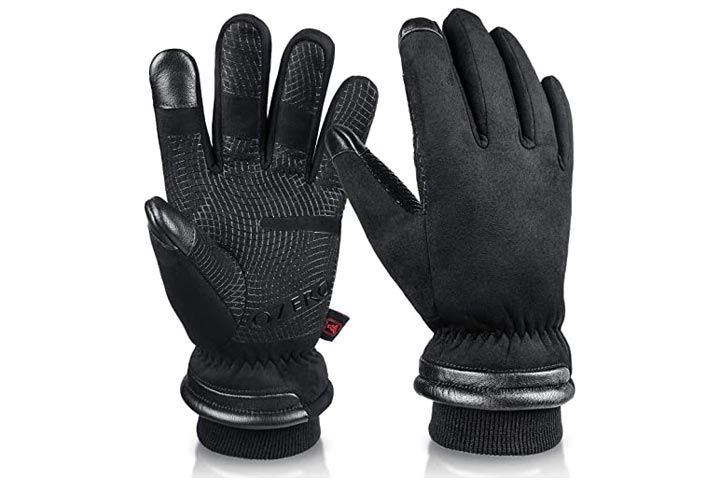 OZERO Waterproof Winter Gloves