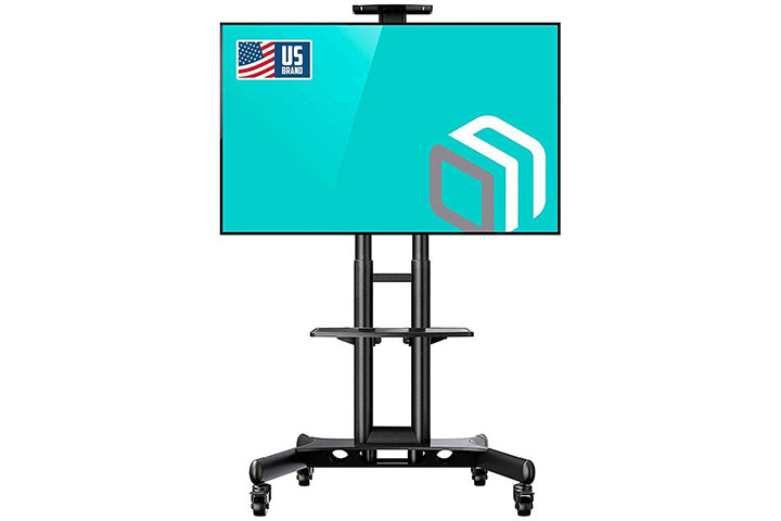 Onkron Mobile stand mount rolling.
