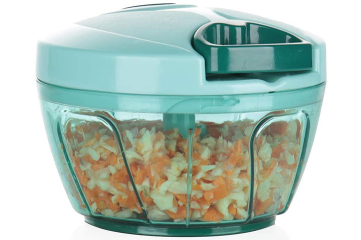 Ourokhome Mini Manual Vegetable Chopper
