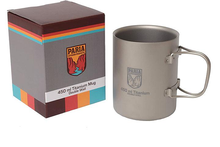 Paria Outdoor Titanium Insulated Double Wall Camping Mug