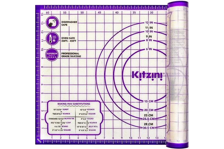 Pastry Mat Silicone by Kitzini