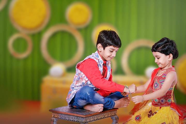 Personalize Your Rakhi