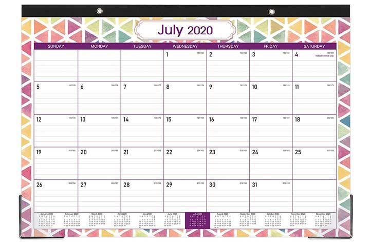 Poluma 2020-2021 Desk Calendar