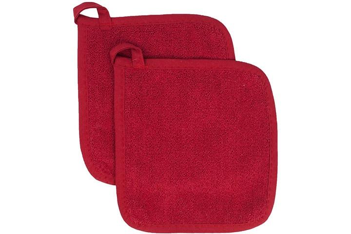 Ritz Royale Collection 100% Cotton Terry Cloth Pot Holder Set