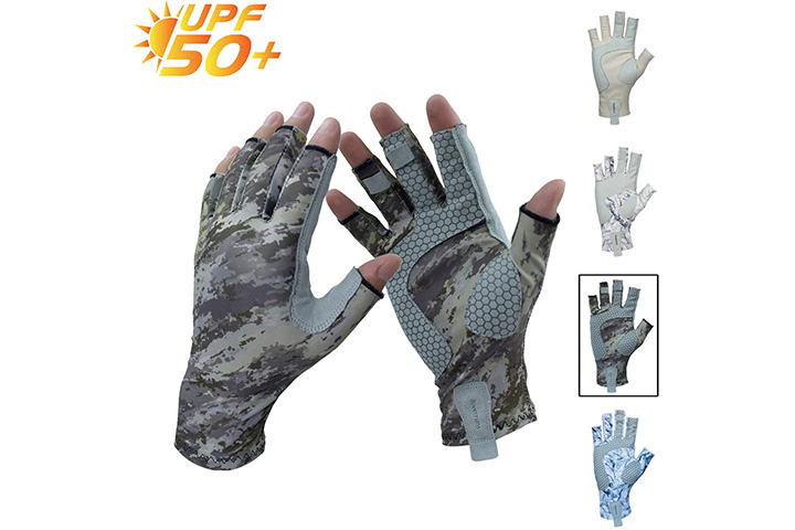 Riverruns Fingerless Fishing Gloves