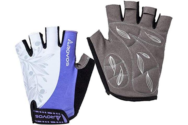 Rovos Fingerless Sports Gloves For Women