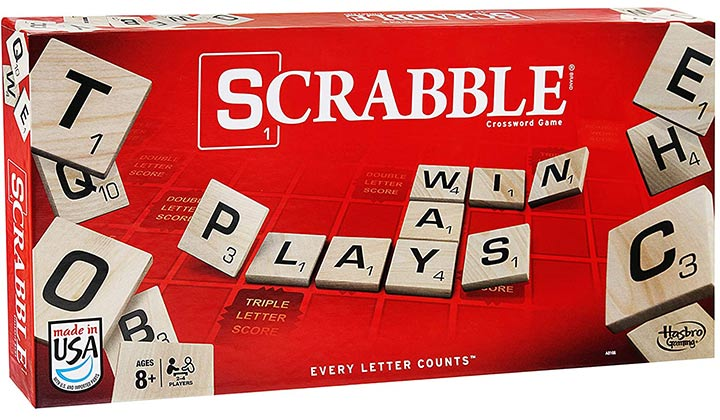 Scrabble Game By Hasbro Gaming