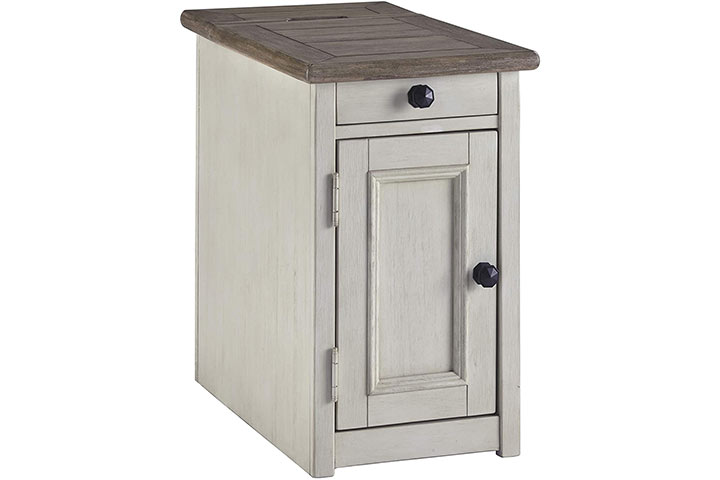 Signature Design by Ashley Bolanburg Chair Side End Table