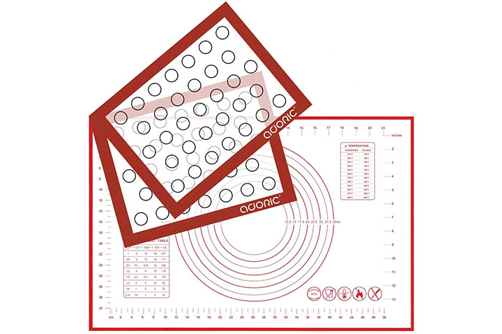 Silicone Baking Mats Pastry Mat by Adoric