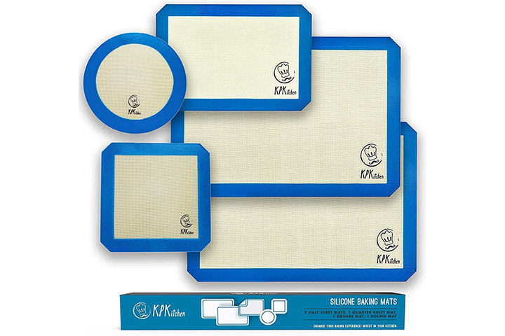Silicone Baking Mats Set by KPKitchen