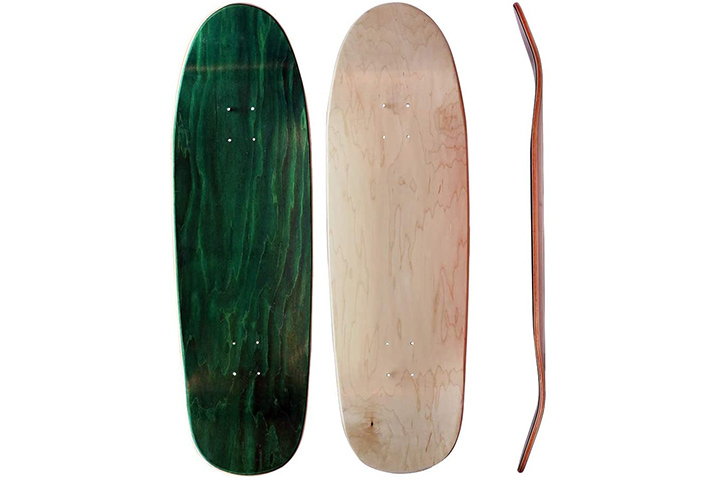 Skateboard Collective Shaped Blank Skateboard Deck