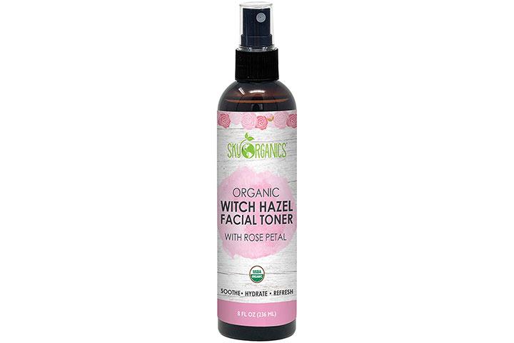 Sky Organics Organic Witch Hazel Facial Toner