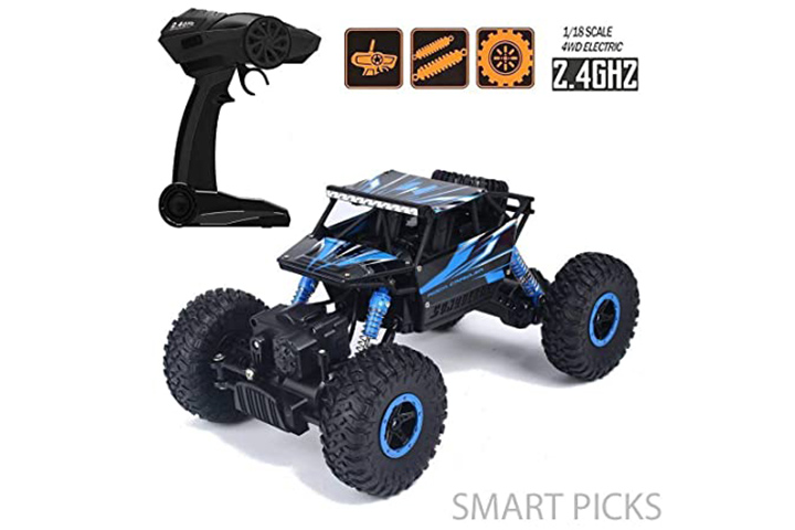 Smart Picks Rechargeable 4WD Rally Car