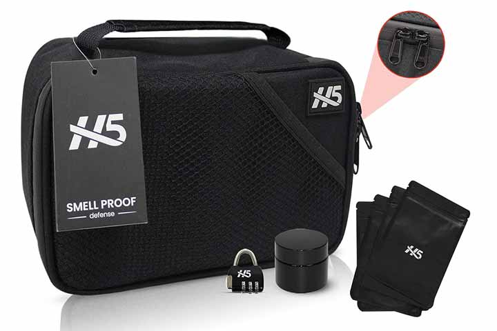 Smell-Proof Bag Set by H5