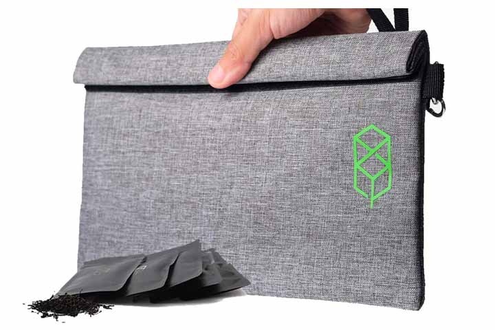 Smell-Proof Bag Stash Storage Pouch Case By Tus