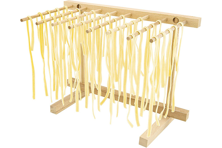 Southern Homewares Collapsible Wooden Pasta Drying Rack