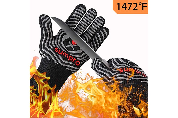 Sumpro Hot BBQ Gloves