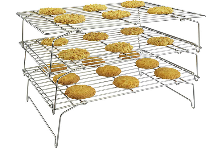 Surpahs 3-Tier Stackable Cooling Rack Set