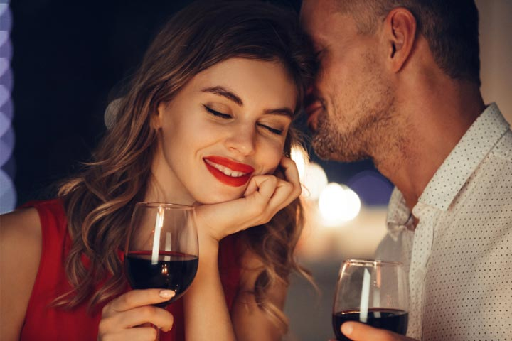 Surprise her with a romantic date
