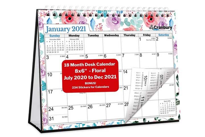Sweetzer& Orange 2020 Calendar