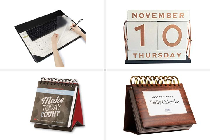 TR 15 Best Desk Calendars To Buy In 2021