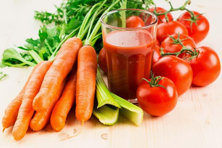 Tangy tomato juice