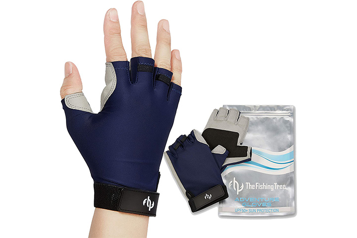 The Fishing Tree Fingerless Fishing Gloves