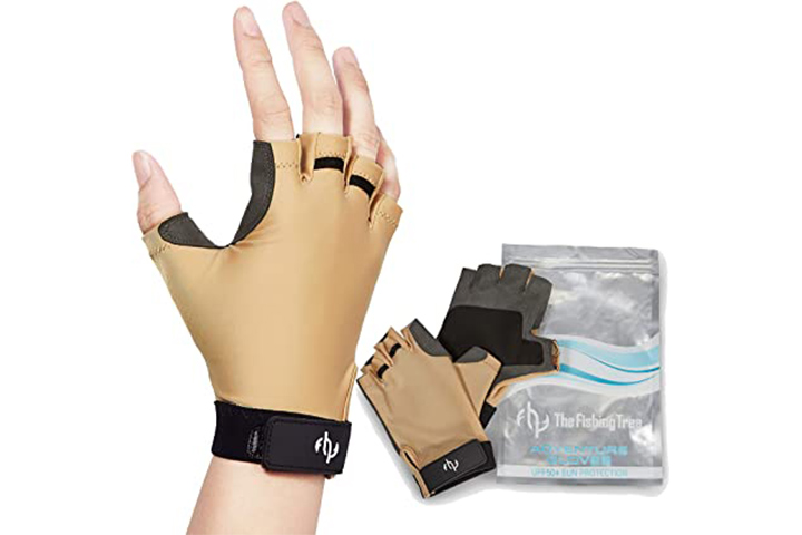 The Fishing Tree Unisex Fingerless Gloves