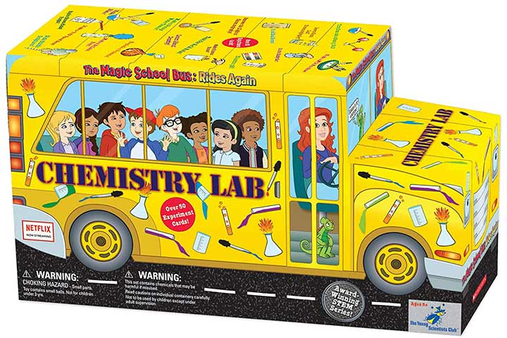 The Young Scientist Club Magic School Bus