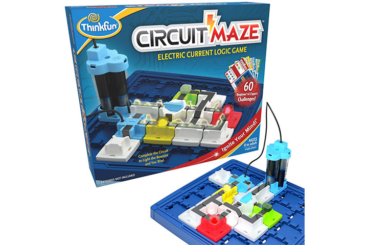 ThinkFun Circuit Maze Electric Current Brain Game