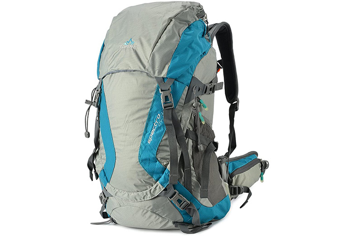 Tofine External Frame Backpack with Rain Cover