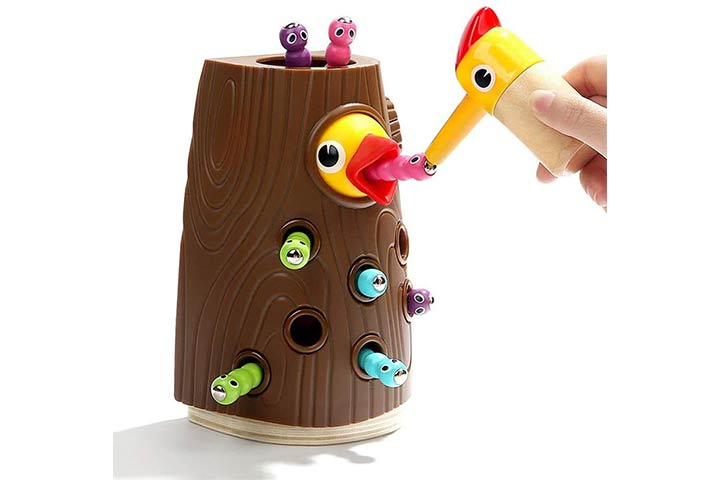 Top Bright Magnetic Toddler Toy, Catching and Feeding Game