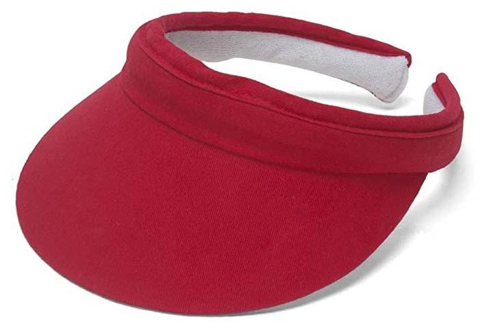Top Headwear Sports Cotton Twill Visor