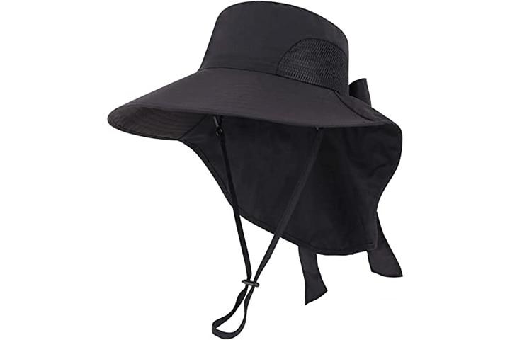 Toppers UPF 50+ Wide Brim Bucket Sun Hat