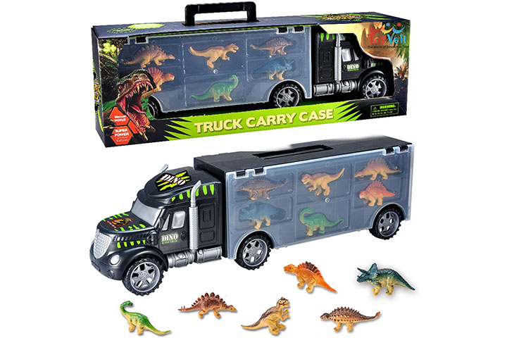 ToyVelt Dinosaur Transport Car With Toys