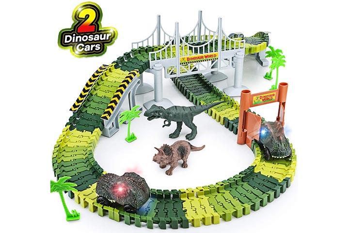 Toyk Toy Dinosaur Race Track