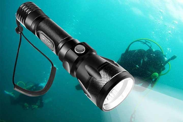 Turn Raise Scuba Diving Light-1