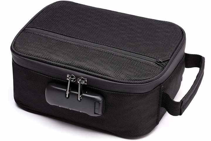 Upgraded Waterproof Smell-Proof Bag Case By Stanker