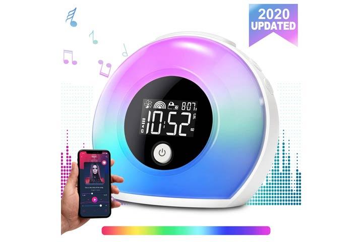 Uplayteck Alarm Clock With Bluetooth Speaker