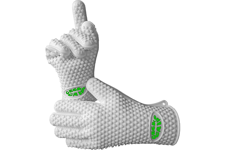 Verde River Products Silicone Heat Resistant BBQ Grilling Gloves