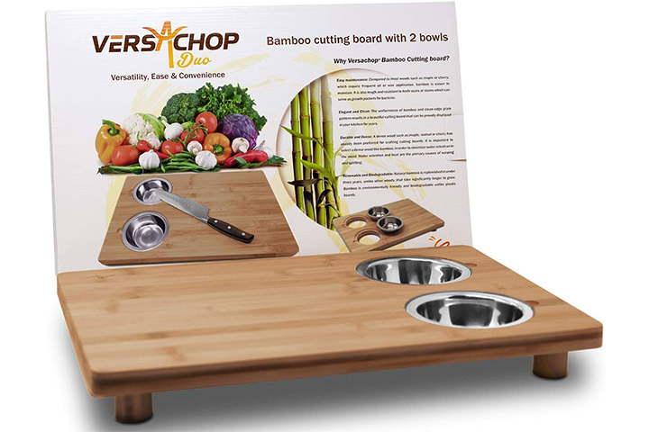 VersaChop Duo, Large 18 inch X 12 inch Cutting Boards for Kitchen