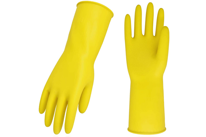 Vgo 10-Pairs Reusable Household Gloves